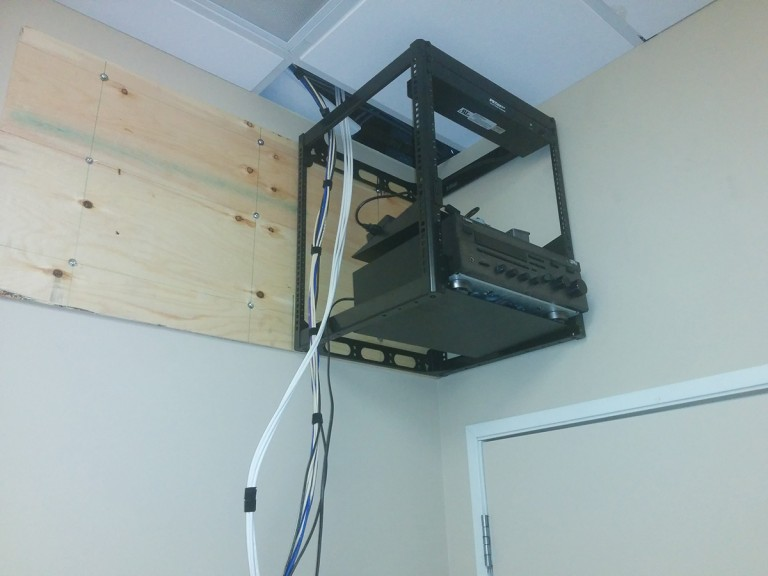 Ottawa West – Dental clinic 3 – Entire AV Setup