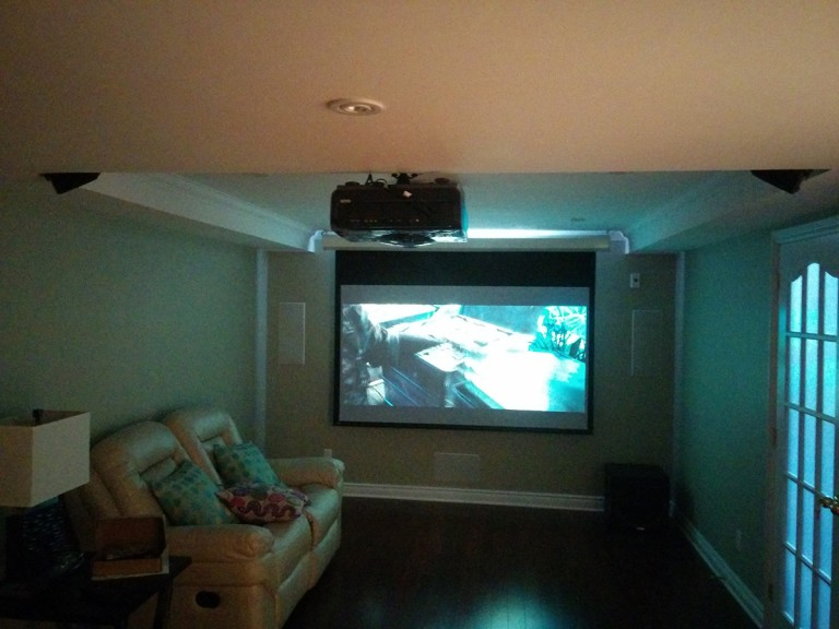 Ottawa Findlay Creek – Entire residential theatre install